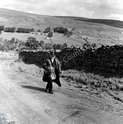 Postman on Rounds, Swaledale